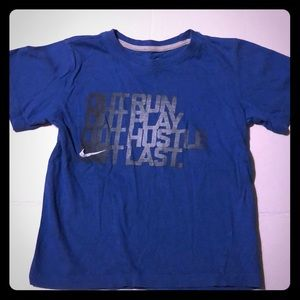 Boys Nike size 7 T-shirt